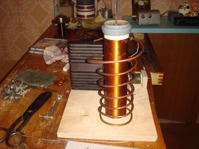 Изготовление катушки тесла своими руками 79
